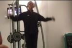"""El Presidente Obama """"pillado"""" en un gimnasio en Polonia"""